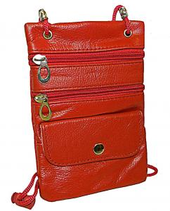 Neck ID/Passport Holder 9027-Red Only (Pack 100)