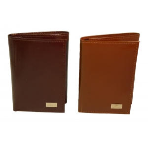 Pack of 12-Trifold Men's Cowhide Wallet JJ900 (In Gift Box)