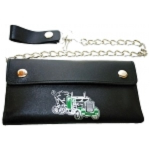 "Pack of 6-Trifold Chain Wallet 7.5"" x 4.5"" LICWB10/T-01"