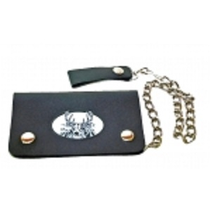 "Pack of 6-Bifold Chain Wallet 6"" x 3.5"" LICWB1/AN-01"