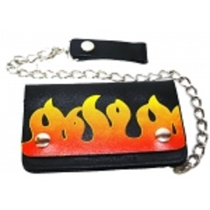 "Pack of 6-Bifold Chain Wallet 6"" x 3.5"" LICWB1/F-01"