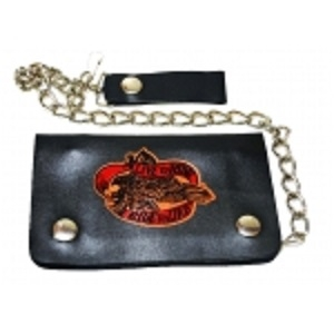 "Pack of 6-Bifold Chain Wallet 6"" x 3.5"" LICWB1/LR-02"