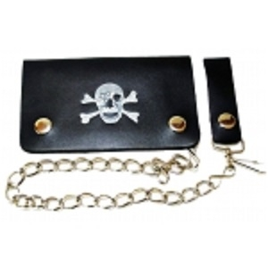 "Pack of 6-Bifold Chain Wallet 6"" x 3.5"" LICWB1/PSK-400"