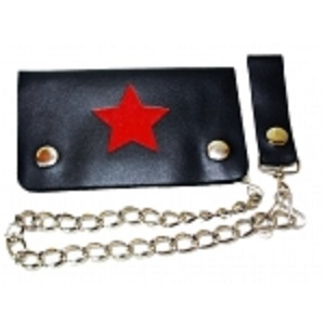 "Pack of 6-Bifold Chain Wallet 6"" x 3.5"" LICWB1/S-01"
