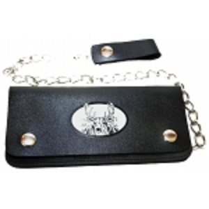 "Pack of 6-Bifold Chain Wallet 7.5"" x 3.5"" LICWB2/AN-01"