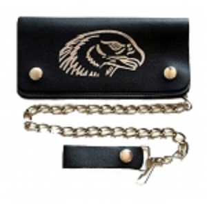 "Pack of 6-Bifold Chain Wallet 7.5"" x 3.5"" LICWB2/E-02"