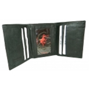 Pack of 12-BRAND NAME: Trifold Men's Cowhide Wallet TOPBULL29